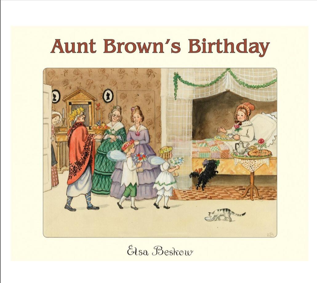 Aunt Brown's Birthday B3884