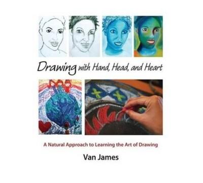 B0105 Drawing with Hand Head Heart