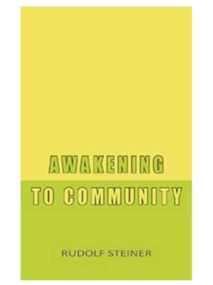 Awakening To Community B6672