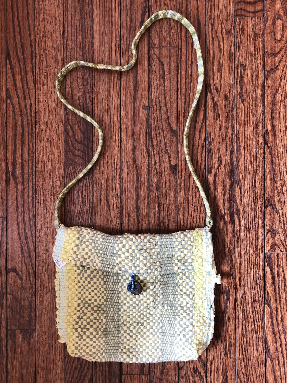 Woven Messenger bag-sm - 3025