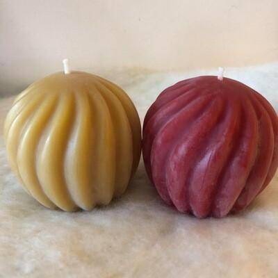 Ball Swirl - candle 3065