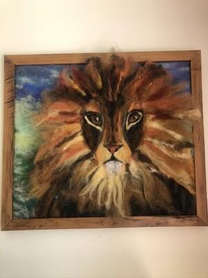 Felted Lion 4003