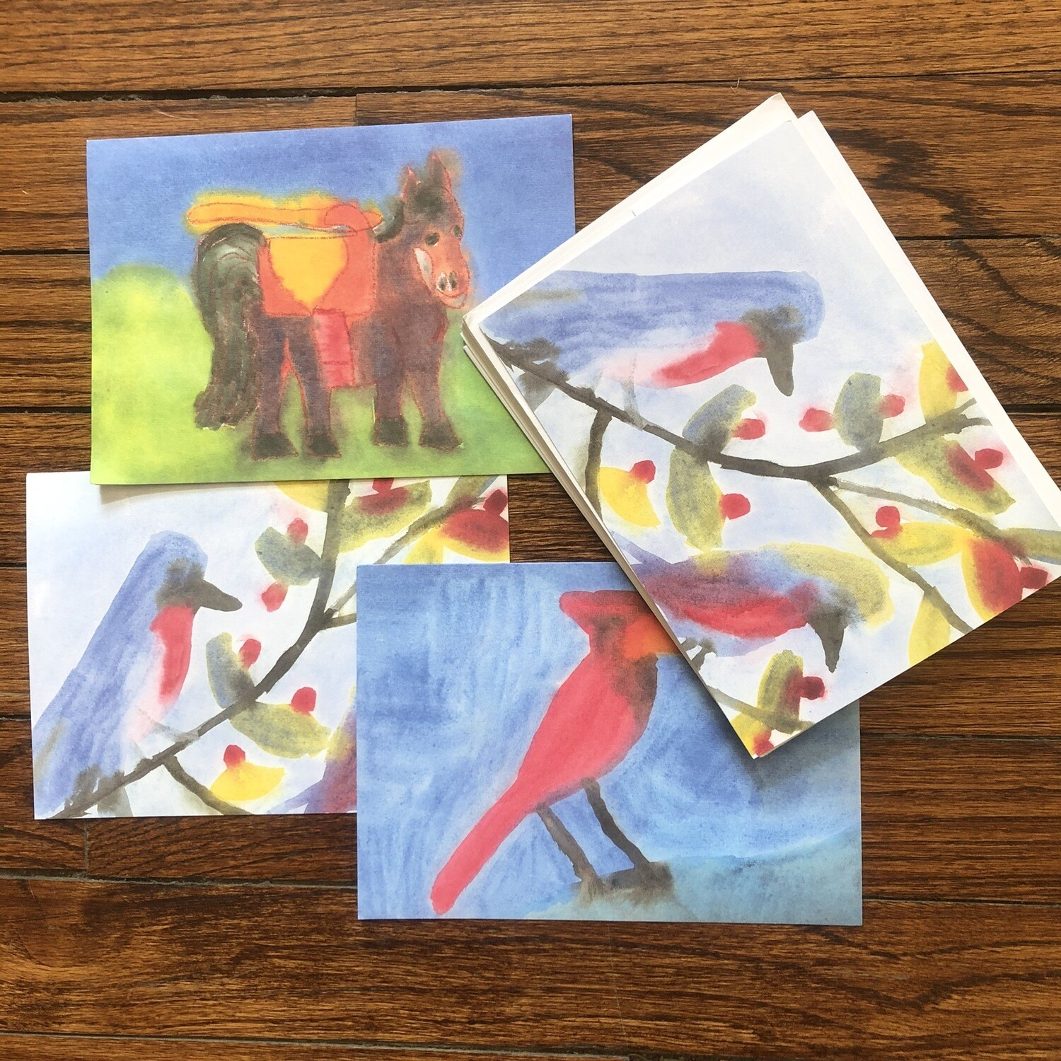 Assorted cards 12 pack 4516