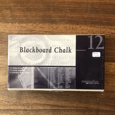 Blackboard Chalk black - 6008