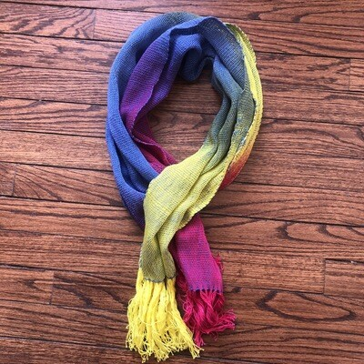 Rainbow scarf 2037