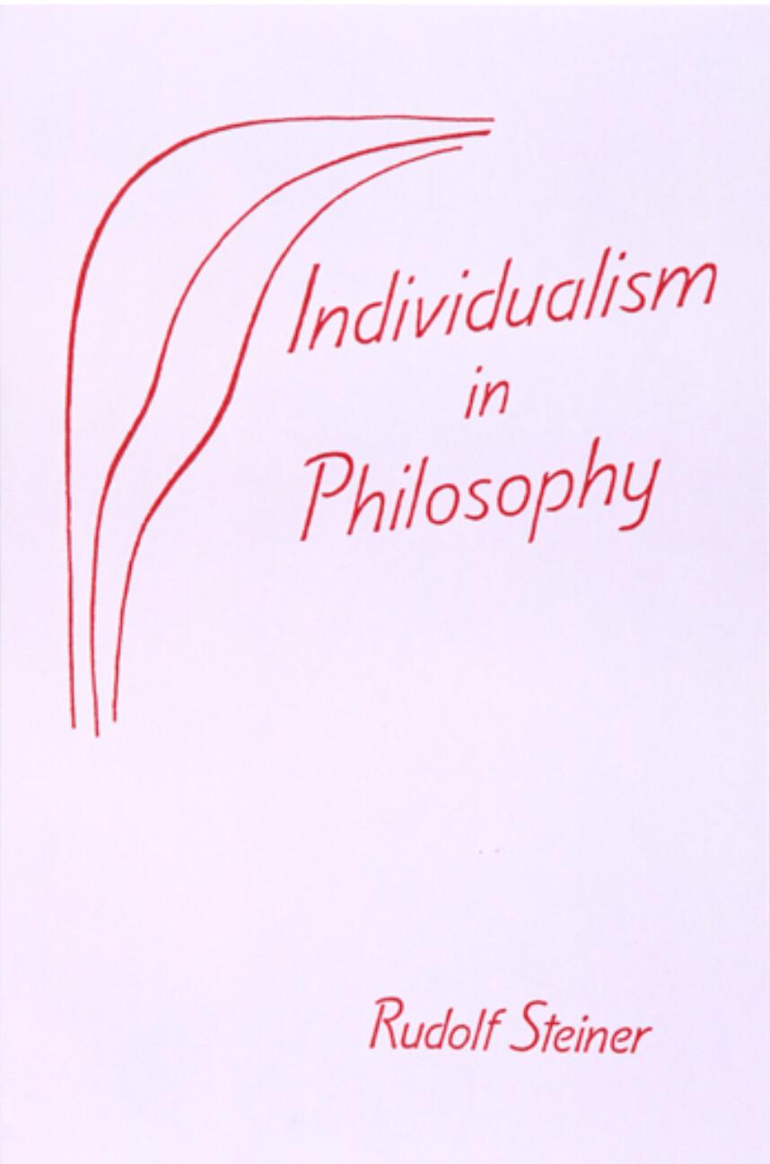 Individualism in Philosophy B2965