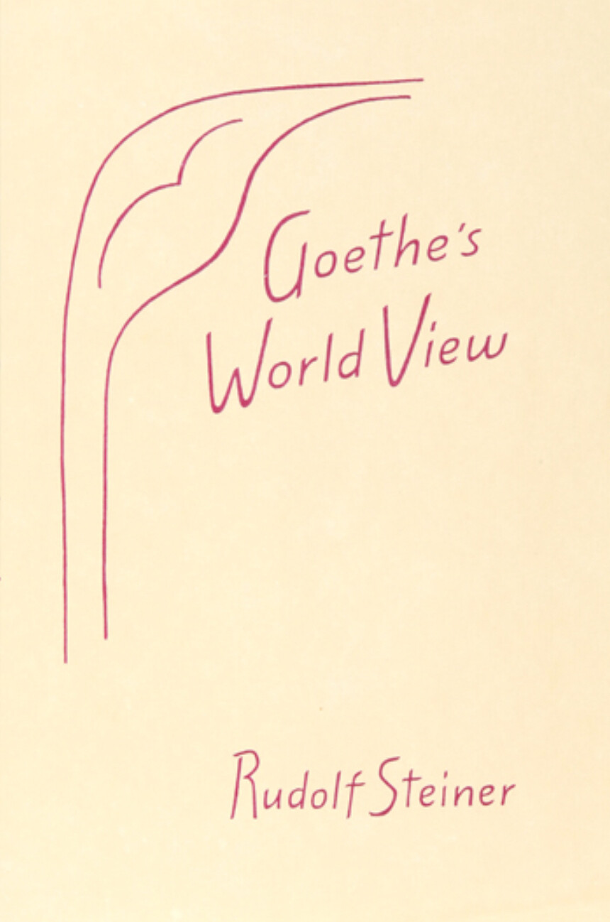 Goethe's World View B2716
