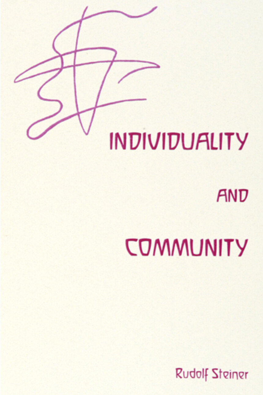 Individuality and Community B9946