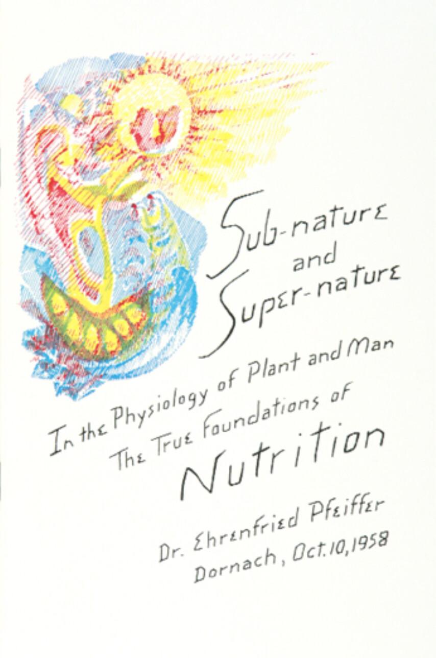 Sub-nature and Super-nature B2389