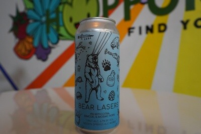 Hidden Springs Ale Works - Bear Lasers - Pale Ale - 5.4% ABV - 16oz Can
