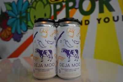 Hidden Springs Ale Works - Deja Moo - Milk Stout - 6.1% - 4-Pack