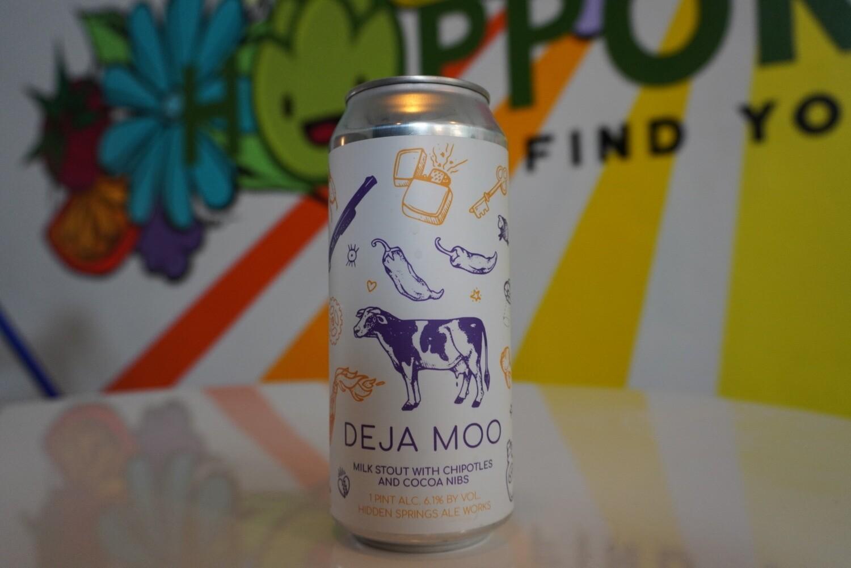 Hidden Springs Ale Works - Deja Moo - Milk Stout - 6.1% ABV - 16oz Can