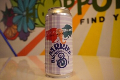 Barrier Brewing - Skinny Elephant - Pilsner - 4.6% ABV - 16oz Single Can