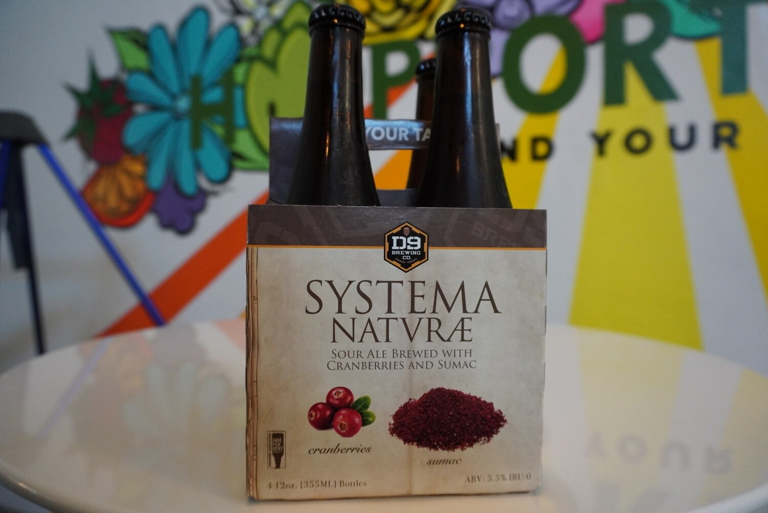 D9 - Systema Natvrae - Sour - 5.5% ABV - 4 Pack