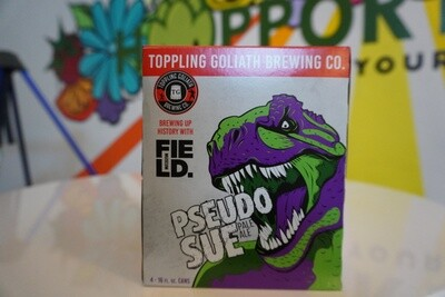 Toppling Goliath - Pseudo Sue - Pale Ale - 5.8% ABV - 4-Pack