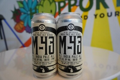 Old Nation - M43 - New England IPA - 6.8% ABV - 4-Pack