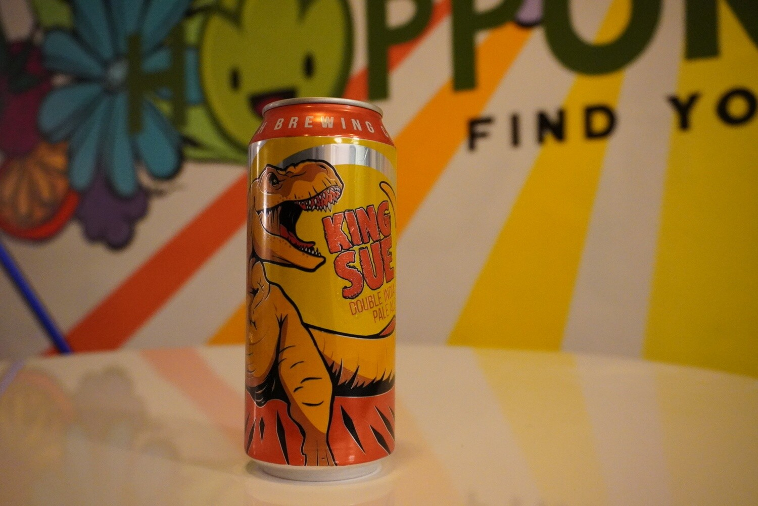 Toppling Goliath - King Sue - Double IPA - 7.8% ABV - 16oz Can