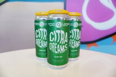 Captain Lawrence - Citra Dreams - New England IPA - 7% ABV - 4 Pack