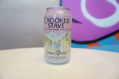 Crooked Stave - Sour Rose - Sour - 4.5% ABV - 12oz Can