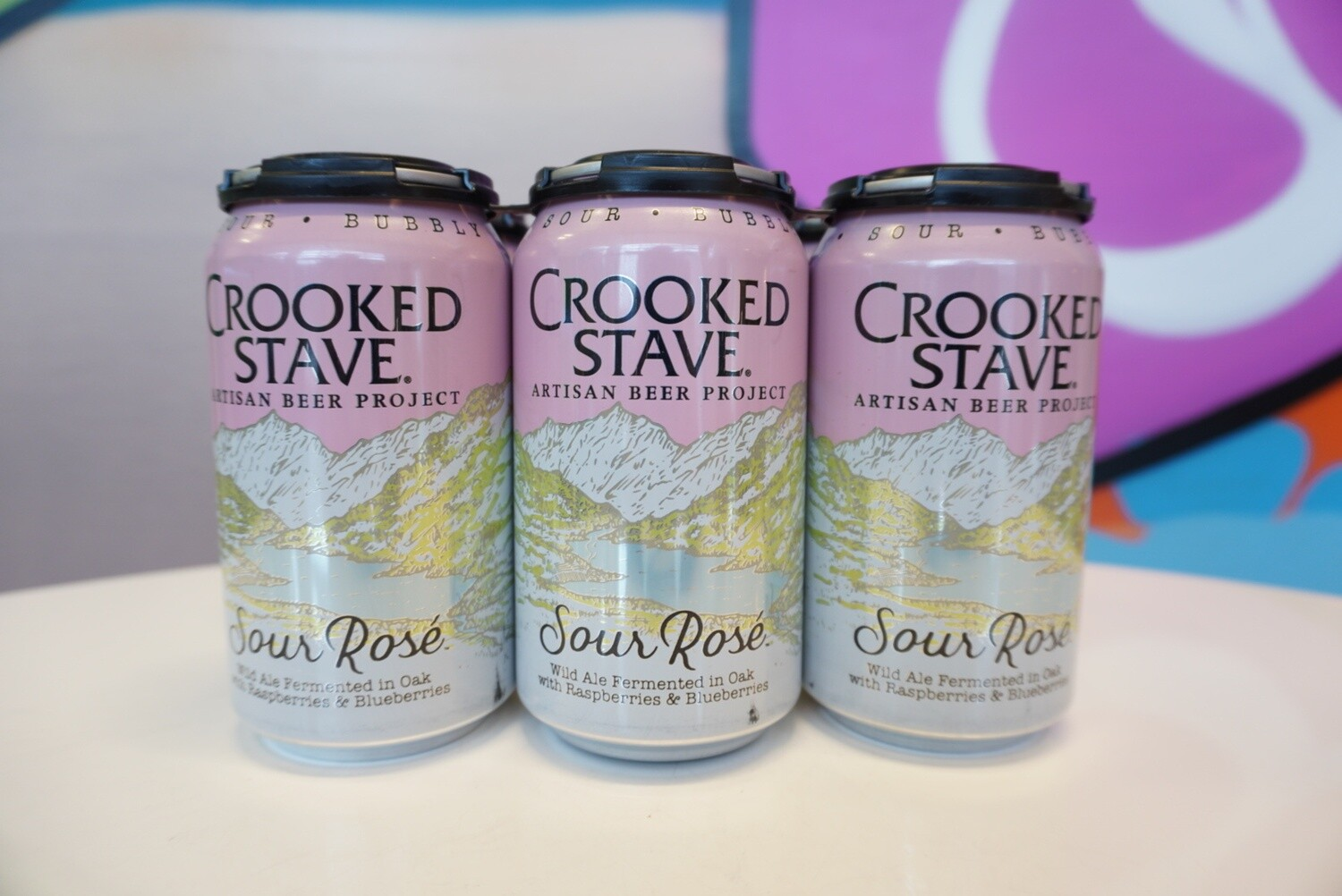 Crooked Stave - Sour Rose - Sour - 4.5% ABV - 6 Pack