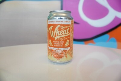 Fort Myers Brewing - American Wheat - Wheat - 5% ABV - 12 oz Can