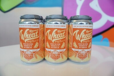 Fort Myers Brewing - American Wheat - Wheat - 5% ABV - 6 Pack
