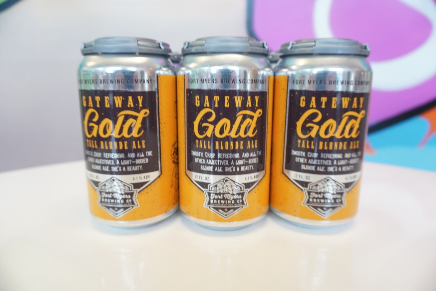 Fort Myers Brewing - Gateway Gold Ale - Blonde - 4.1% ABV - 6 Pack