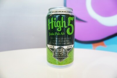 Fort Myers Brewing - High Five IPA - IPA - 5.9% ABV - 12oz Can