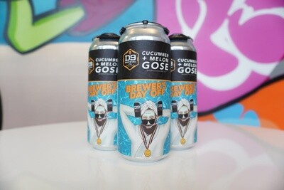 D9 - Brewer's Day Off Gose - Sour - 4.8% ABV - 4 Pack