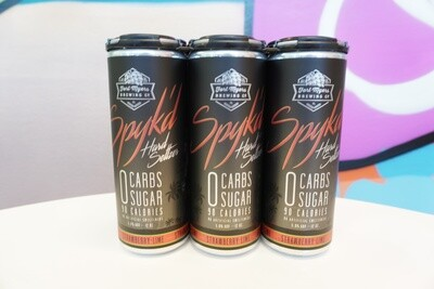 Fort Myers Brewing - Strawberry Spyk'd - Seltzer - 5% ABV - 4 Pack
