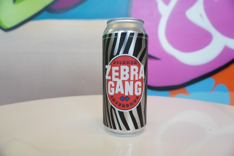 Interboro - Zebra Gang - Pilsner - 4.7% ABV - 16oz Can