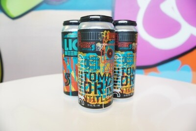 LIC Beer Project - Automatic Work - Hazy DIPA - 8.5% ABV - 4 Pack