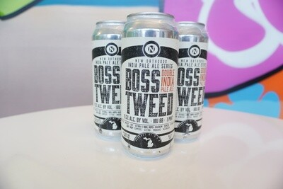 Old Nation - Boss Tweed - Double IPA - 9.3% ABV - 4 Pack