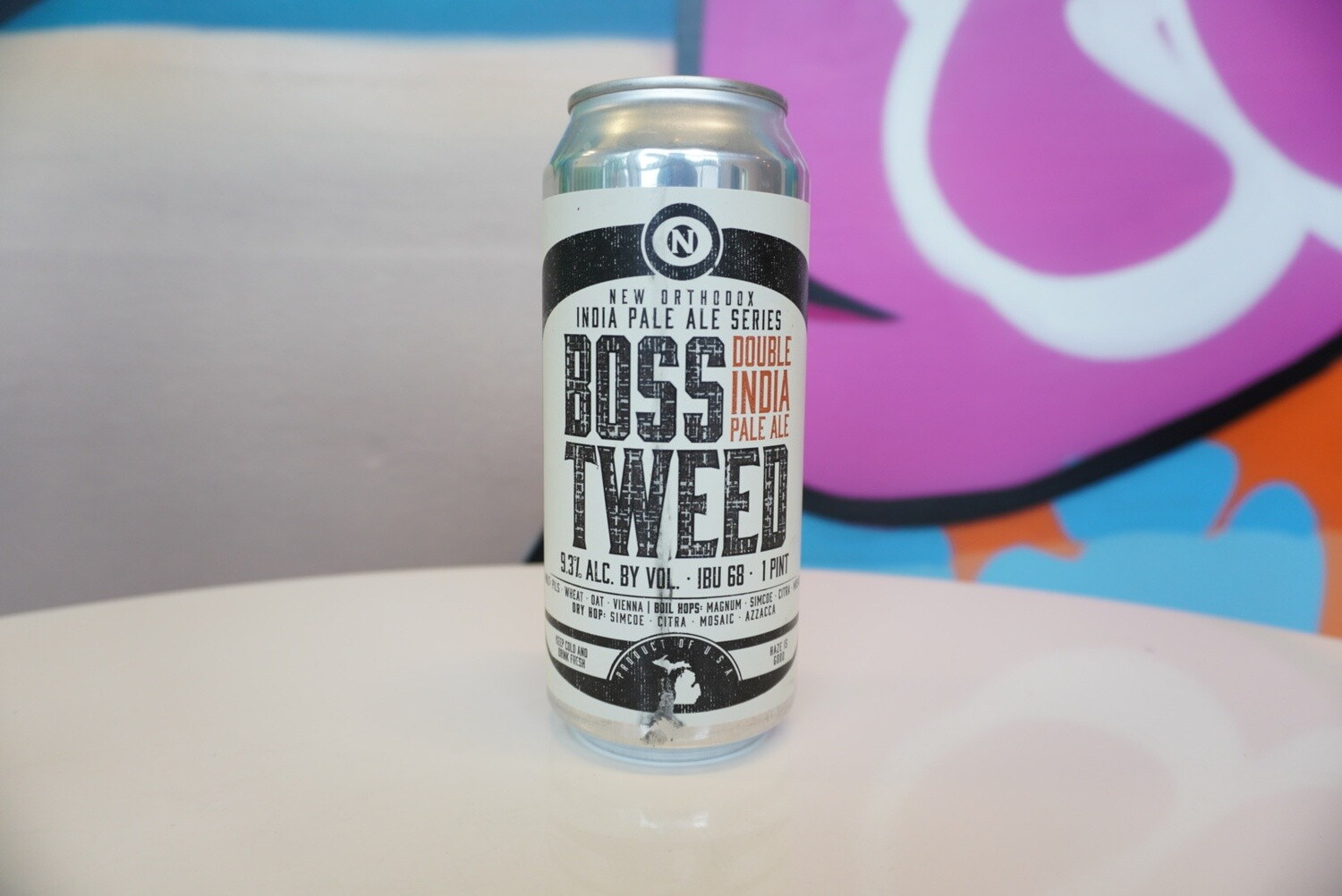 Old Nation - Boss Tweed - Double IPA - 9.3% ABV - 16 oz Can