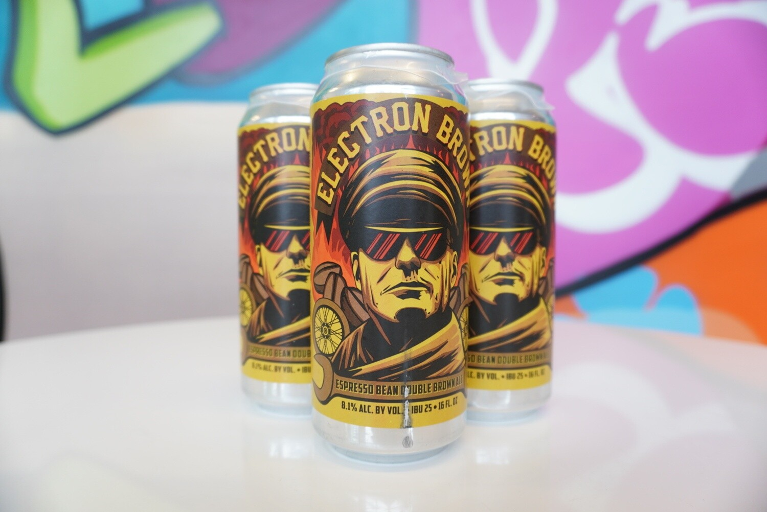 Old Nation - Electron Brown - Brown Ale - 7% ABV - 4 Pack