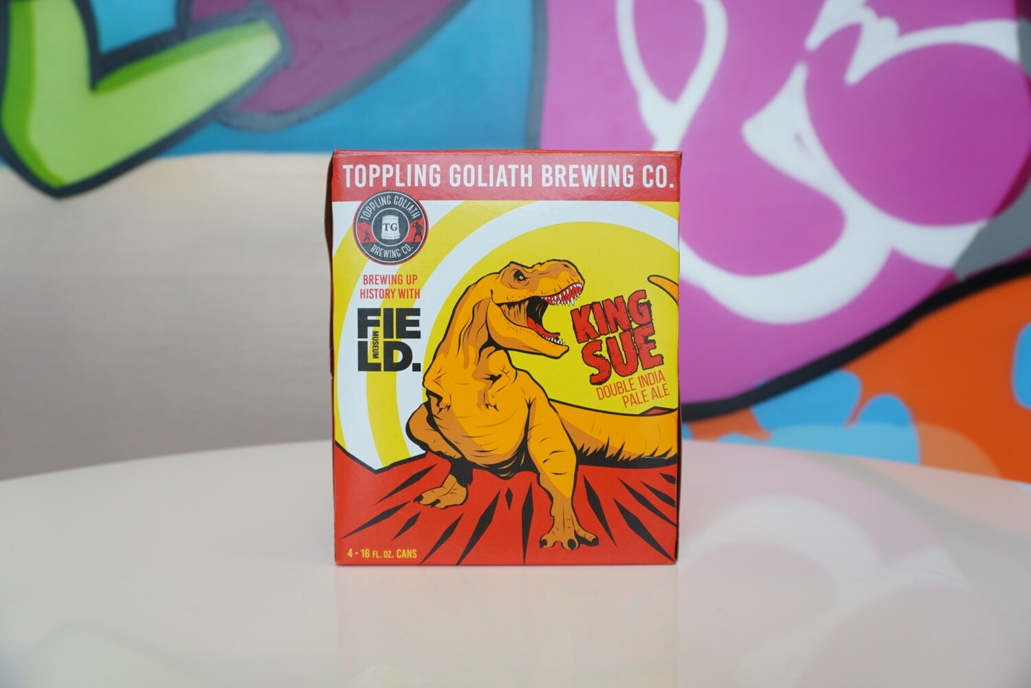 Toppling Goliath - King Sue - Double IPA - 7.8% ABV - 4-Pack