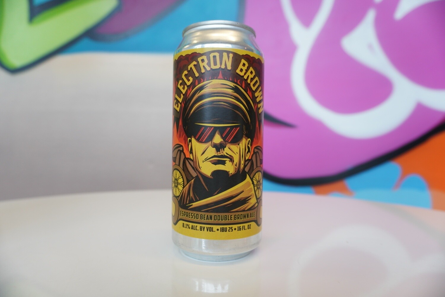 Old Nation - Electron Brown - Brown Ale - 7% ABV - 16oz Can