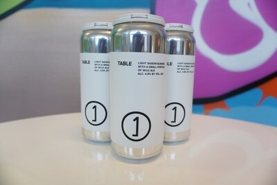 Unne Anne - Table Saison - 4.8% ABV - 4 Pack