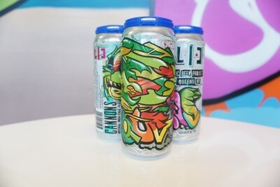 LIC Beer Project - Cannons - DIPA - 8.5% ABV - 4 Pack
