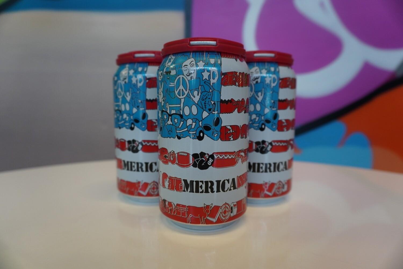 Prairie Artisan Ales - 'Merica - Farmhouse/Saison - 5.2% ABV - 4 Pack
