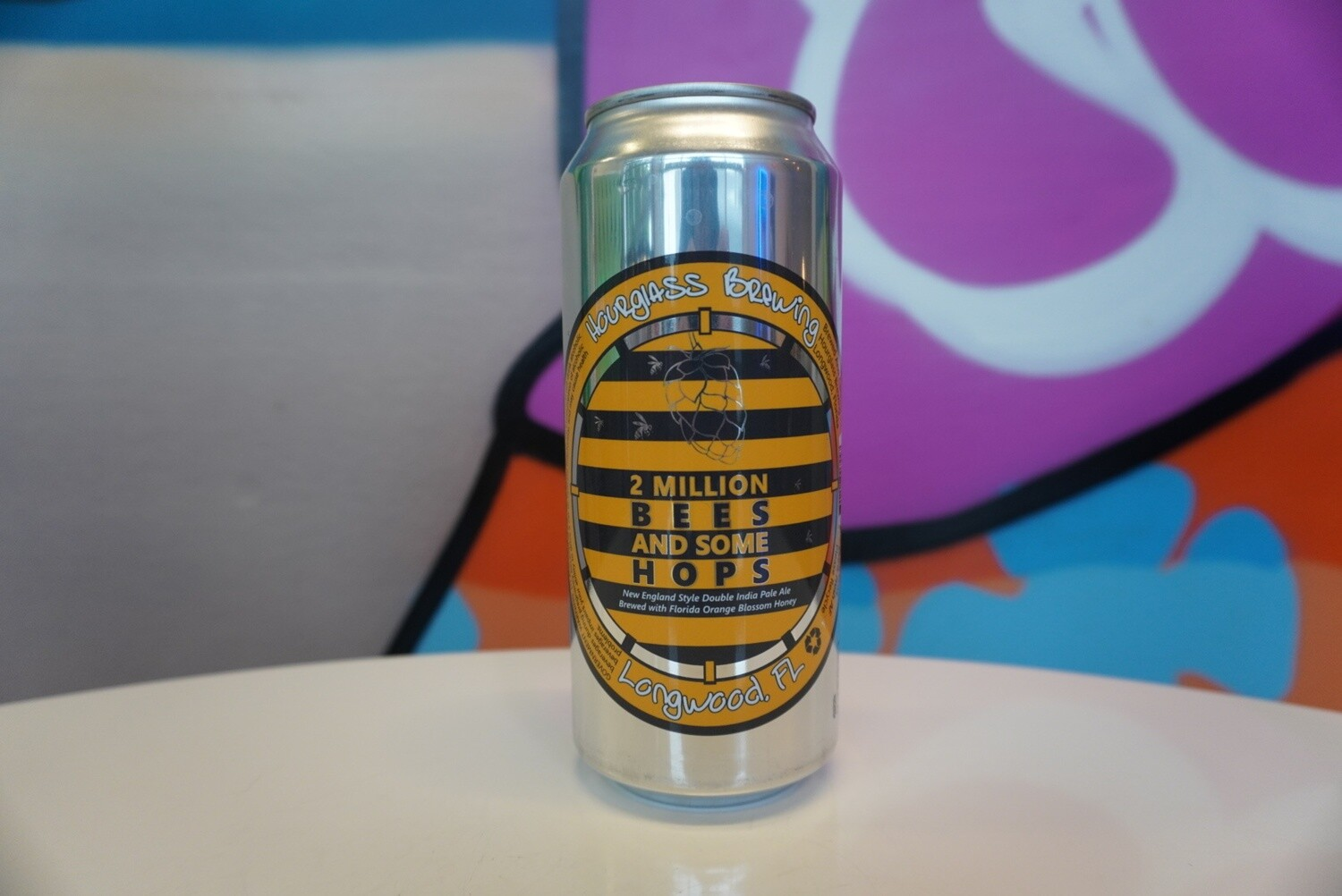 Hourglass Brewing - 2 Million Bees - Double New England IPA - 8.5% ABV - 16oz Can