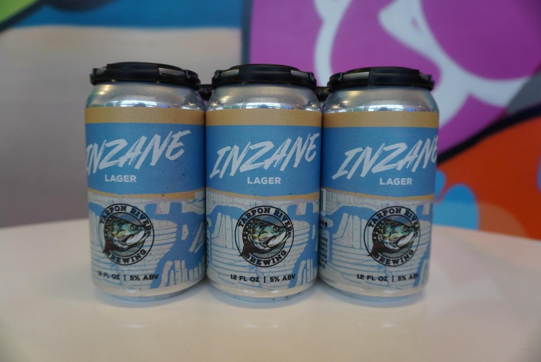 Tarpon River Brewing - Inzane Lager - Light Lager - 5% ABV - 6 pack