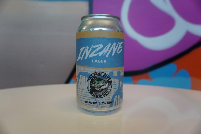 Tarpon River Brewing - Inzane Lager - Light Lager - 5% ABV - 12oz Can