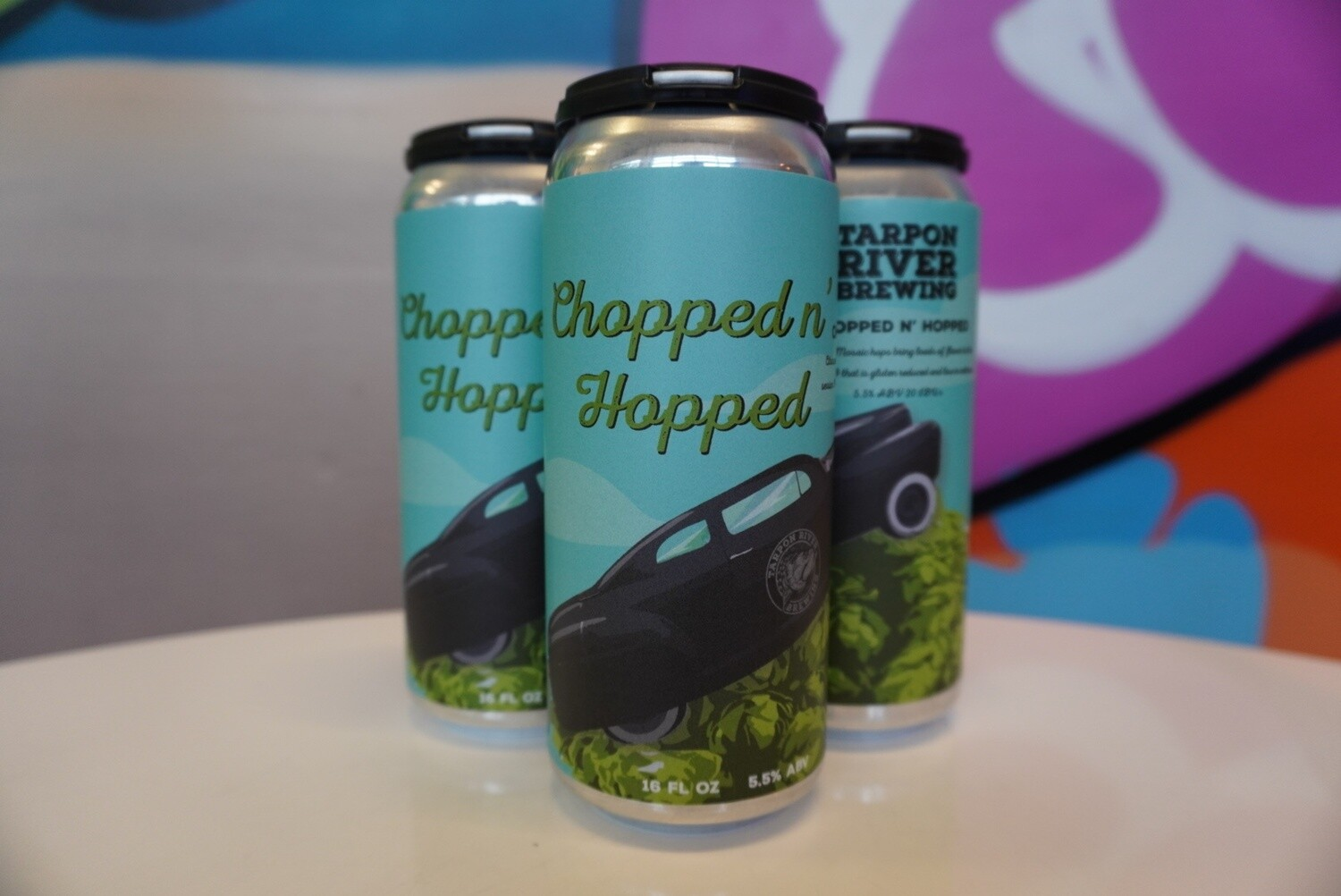 Tarpon River Brewing - Chopped and Hopped - Session IPA - 5% ABV - 4 Pack