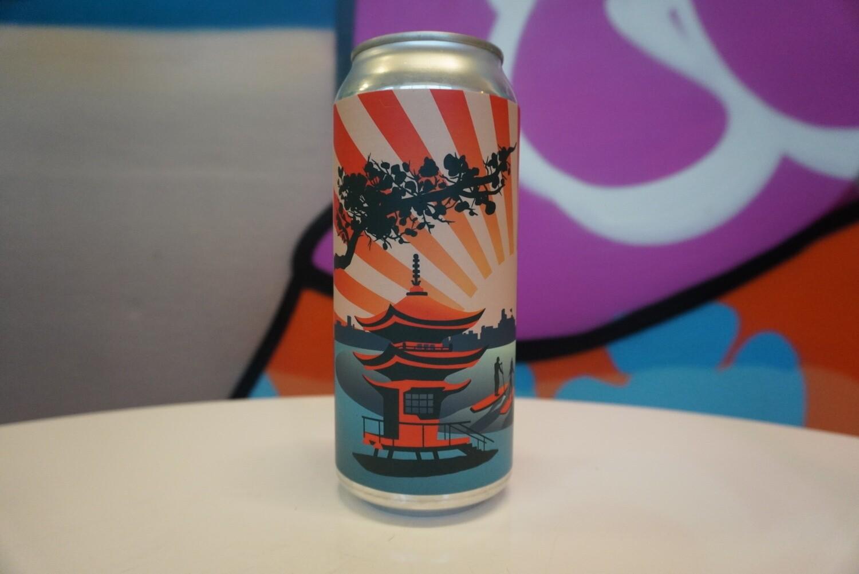 Beat Culture - Saken San - Rice Lager - 5.5% ABV - 16oz can
