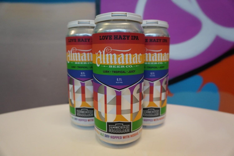 Almanac - Love - IPA - 6.1% ABV - 4 Pack