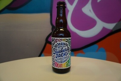 Almanac - Blueberry Jack - Sour - 7.2% ABV - 375ml Bottle