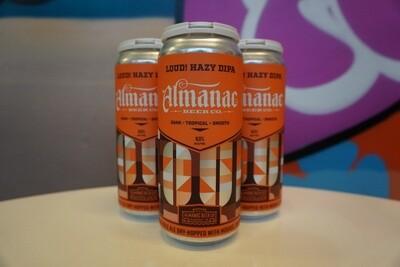 Almanac - Loud! - Double IPA - 8% ABV - 4 Pack