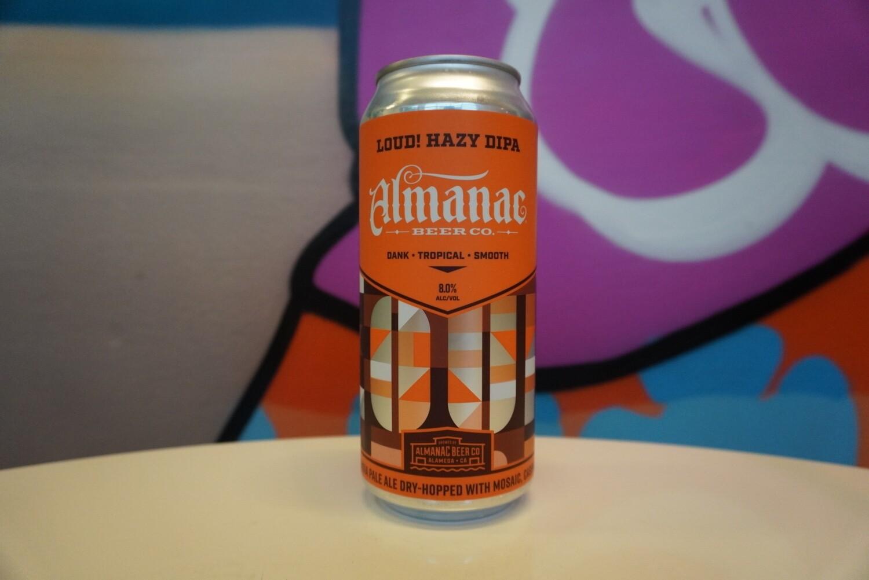 Almanac - Loud! - Double IPA - 8% ABV - 16oz Can