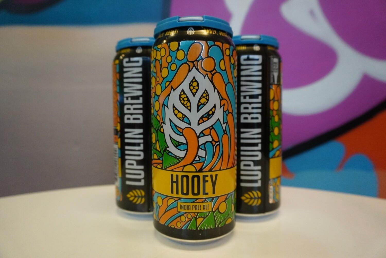 Lupulin Brewing - Hooey - New England IPA - 6.2% ABV - 4 Pack